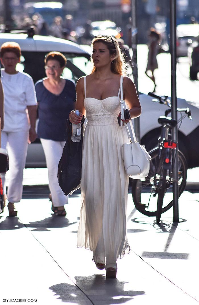 @Elita.Rudi Instagram, street style Zagreb, ljeto 2016, duge haljine, duge bijele haljine, ženska moda