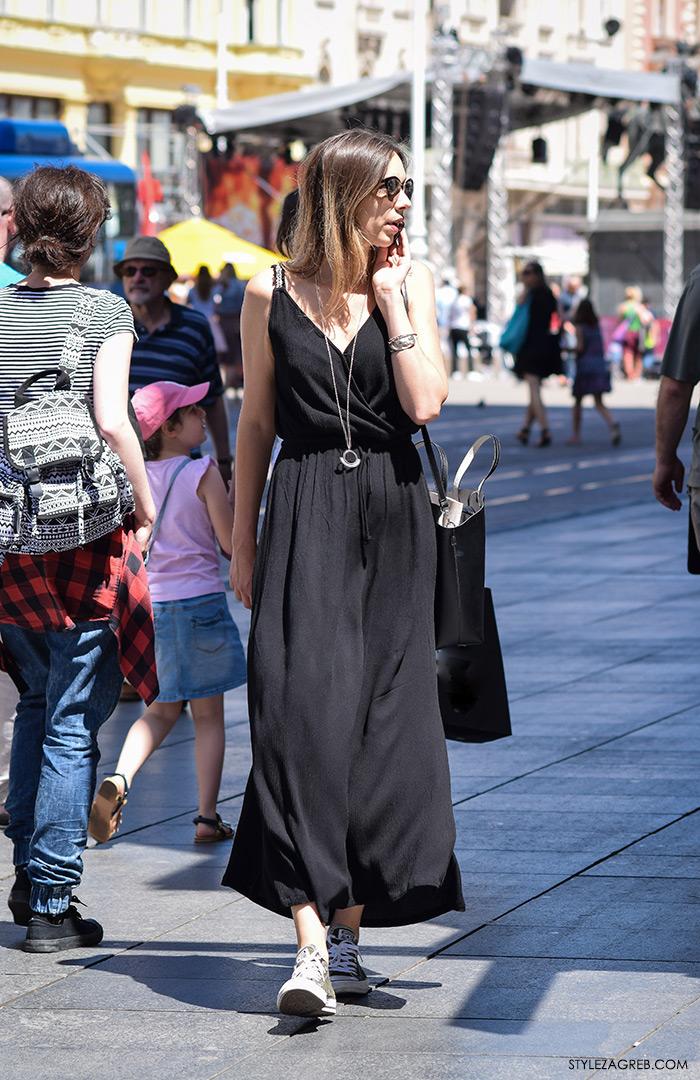 street style Zagreb, ljeto 2016, duge haljine, duge haljine, Zara, ženska moda