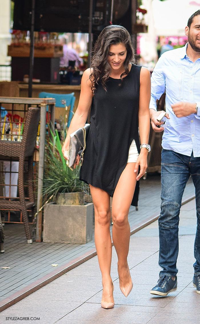 Iva Herceg Instagram, Street style Zagreb ljeto 2016, kako nositi haljine s prorezima