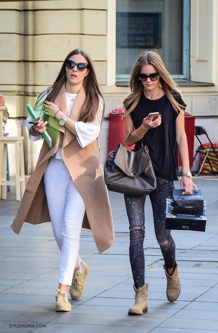 street style Zagreb moda jesen rujan 2016, kako nositi baloner bez rukava žena hr