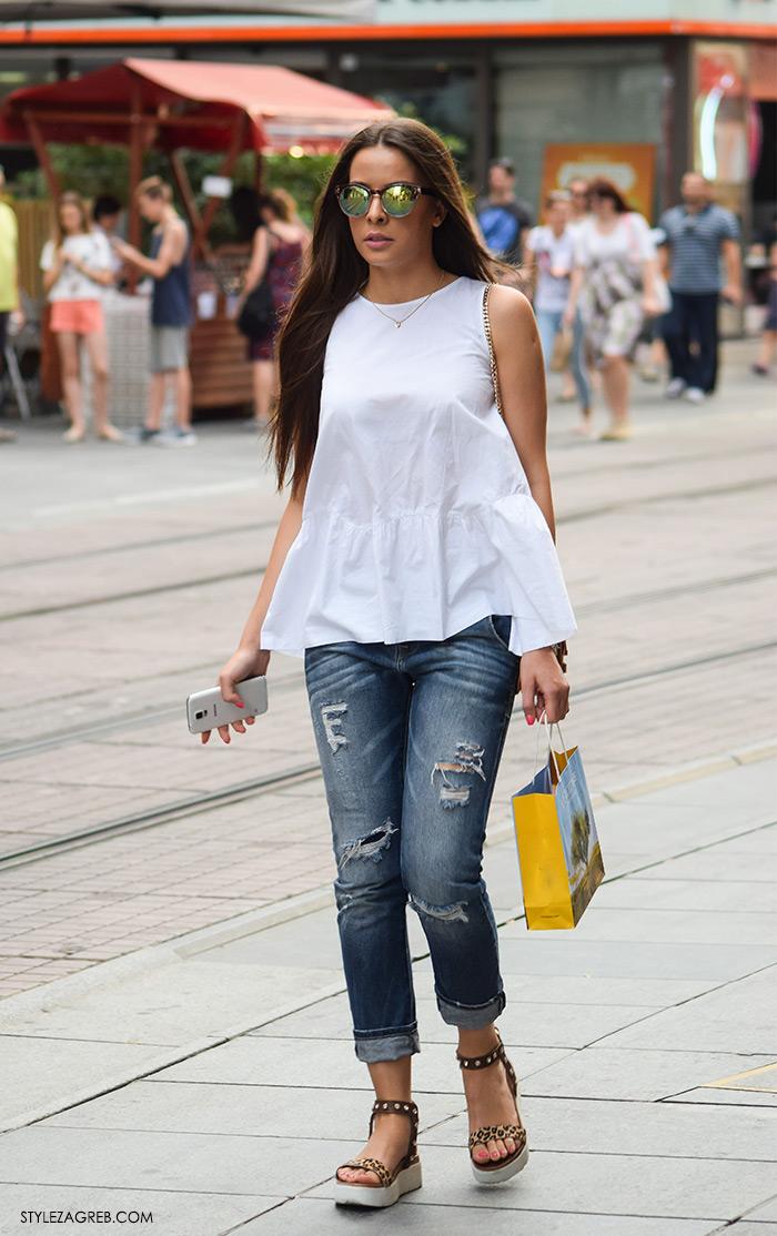 Moda 2016: traperice i bijeli top Zagreb street style