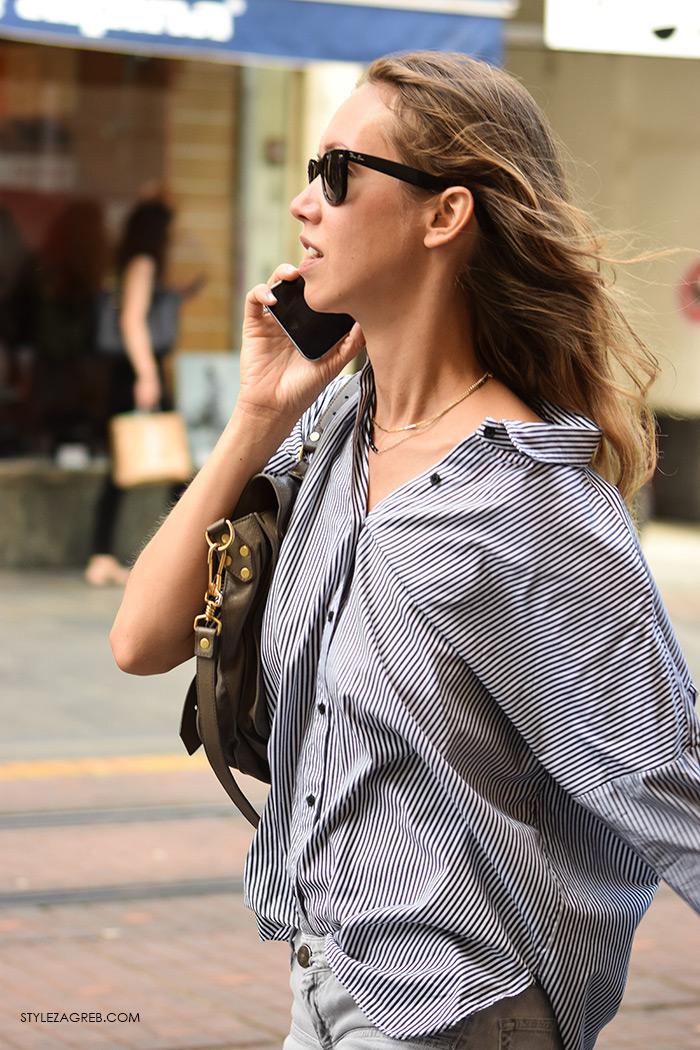Ines Paraminski, žena hr, zena hr, croportal zena, žene croportal, ženska moda rujan 2016, Zagreb street style kraj ljeto, vremenska prognoza za 30 dana zagreb, vrijeme zadar 14 dana, kako nositi široku prugastu košulju, digital marketing executive