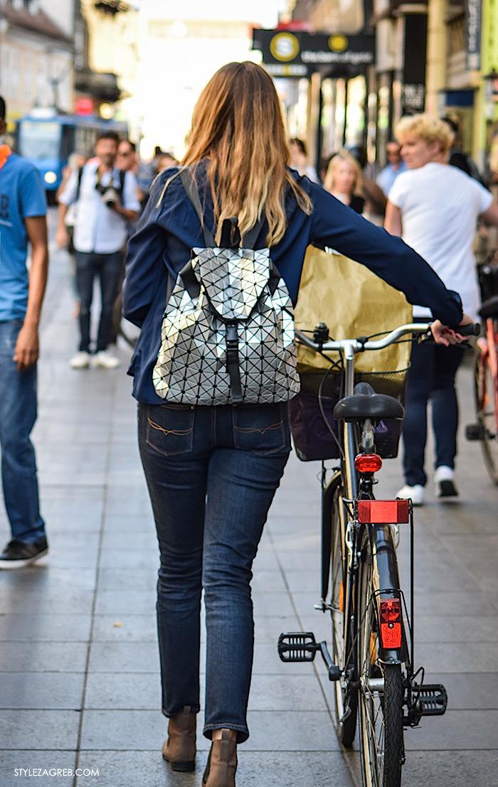 Metalik Plisirane Suknje Moda 2016 Jesen Street Style Zagreb 8 Style Zagreb
