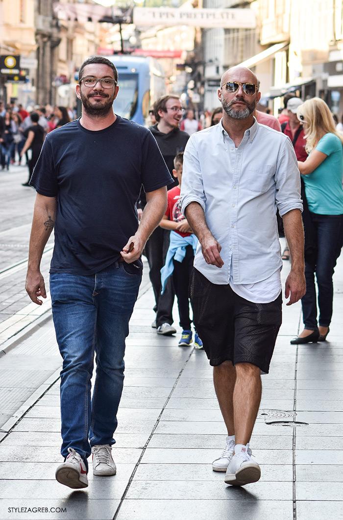 Street style Zagreb jesen 2016 muška moda, Hrvoje Laurenta i Ranko Vučinić Instagram