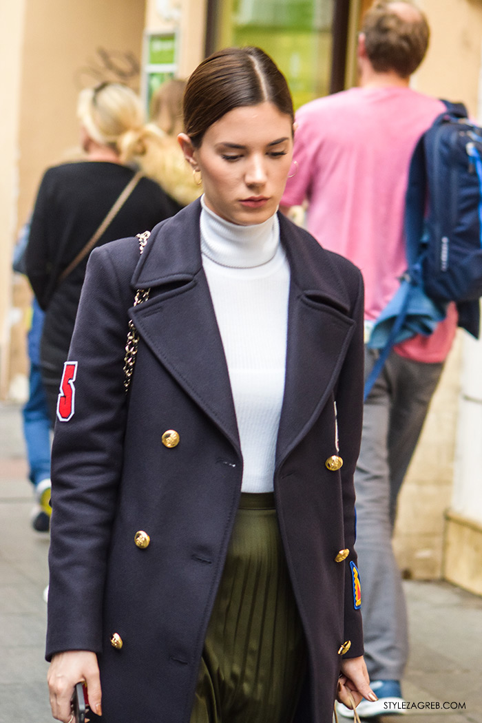 kaputi moda zima 2016 Street Style Zagreb, jednostavni jesenski styling