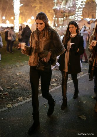 Advent i street style u Zagrebu blistaju