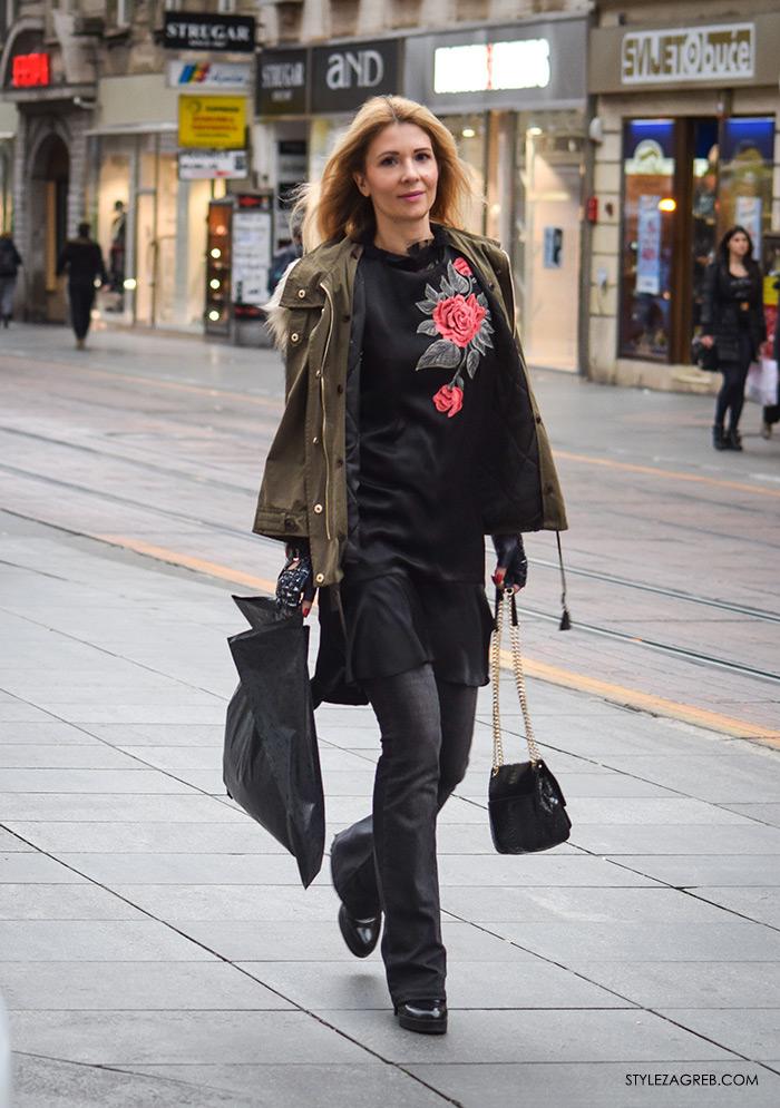 Odvjetnica Ana Olivari Pavličić: nova zvijezda ulične mode, street style women's fashion style trends