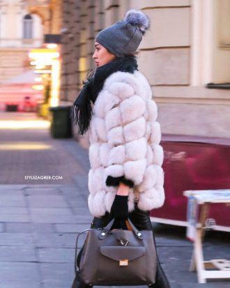 Uljepšale su zimski street style: kapa, šešir, šubara i beretka | Style Zagreb