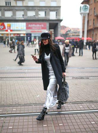 Siv, crn i jako chic! Street style Zagreb uoči Valentinova