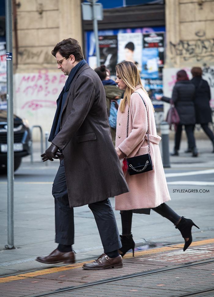 Frizure trendovi Cijena Facebook, Youtube 24 Index Instagram Slike Street style: gdje god se osvrnemo - boje! Street style spring women's fashion pink coat