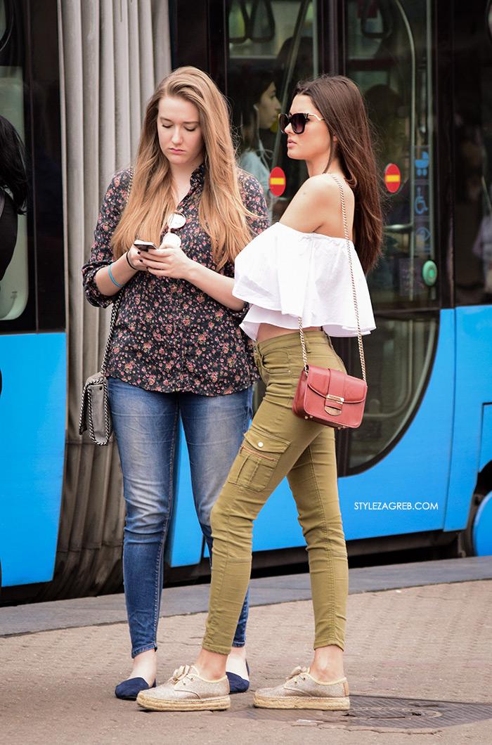 style zagreb špica zagreb danas street style slika off shoulder top