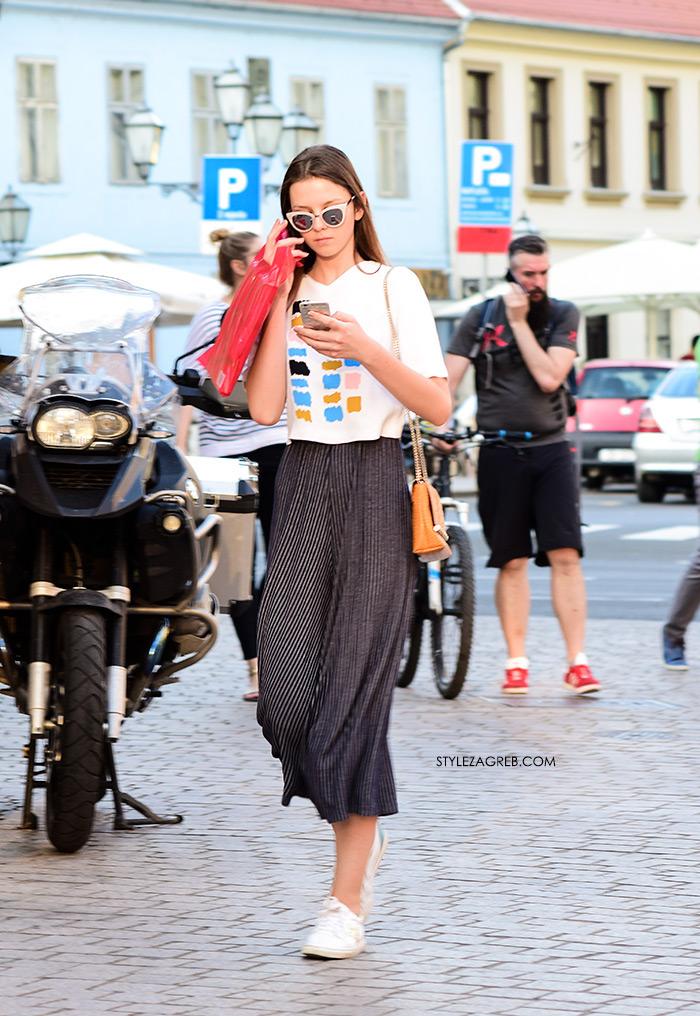 street style zagreb špica ljetna moda culottes suknja hlače kombinacija styling