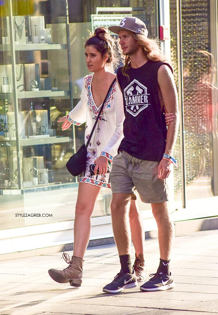 street style zagreb špica ljetna moda boho haljina i bakandže