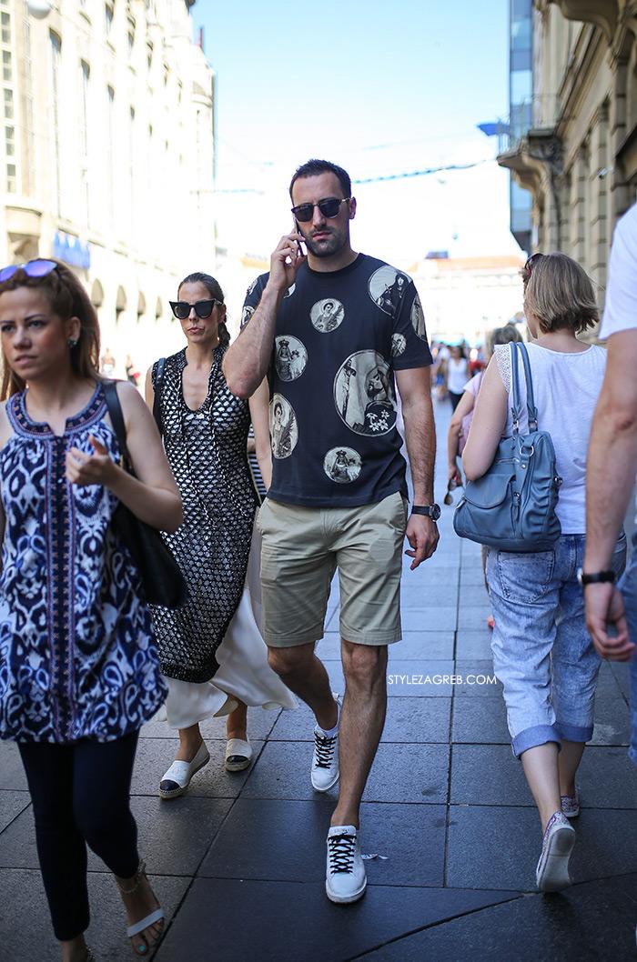 Ljetne poruke Mate Rimca i Igora Vorija   muška moda ljeto t-shirt majice bijele tenisice street style Zagreb stylezagreb Muška moda: Ljetno izdanje - Mate Rimac i Igor Vori