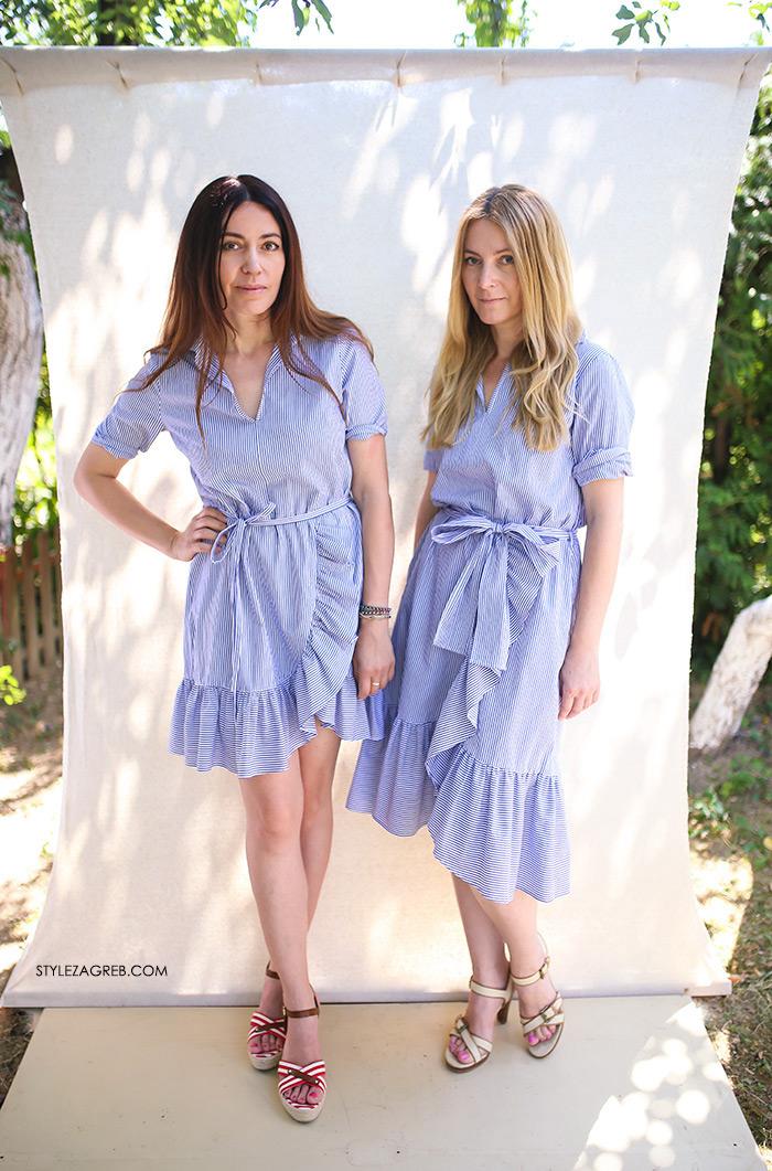 Sisters Jo moda by Style Zagreb, Slavica Josipović, Ana Josipović, košulja haljina, striped shirt-dress