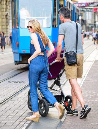 Zanimljiv kombinezon Jelene Veljače   Style Zagreb