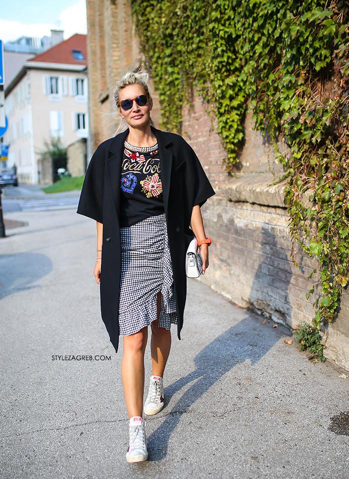 Golden Goose gdje kupiti Zagreb stajling s tenisicama Anja Lutilsky Drimia Pinko Coca Cola majica s biderima