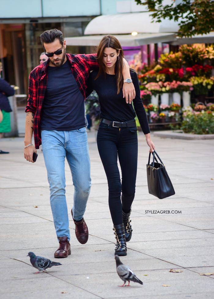 Sara Vulinović Zlatan Thomas Flaim Instagram Style Zagreb street style fotka stylish par