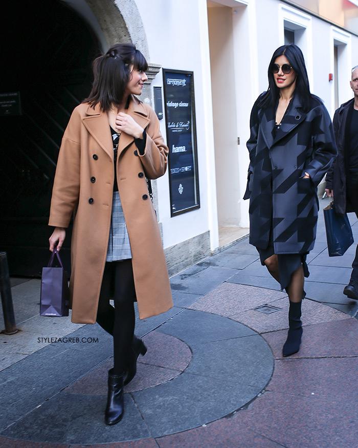 Špica kaže: Pozor - vrijeme je za kapute! | Style Zagreb, crvena zimska jakna, kaput u boji devine dlake, zara kaput crni kaput