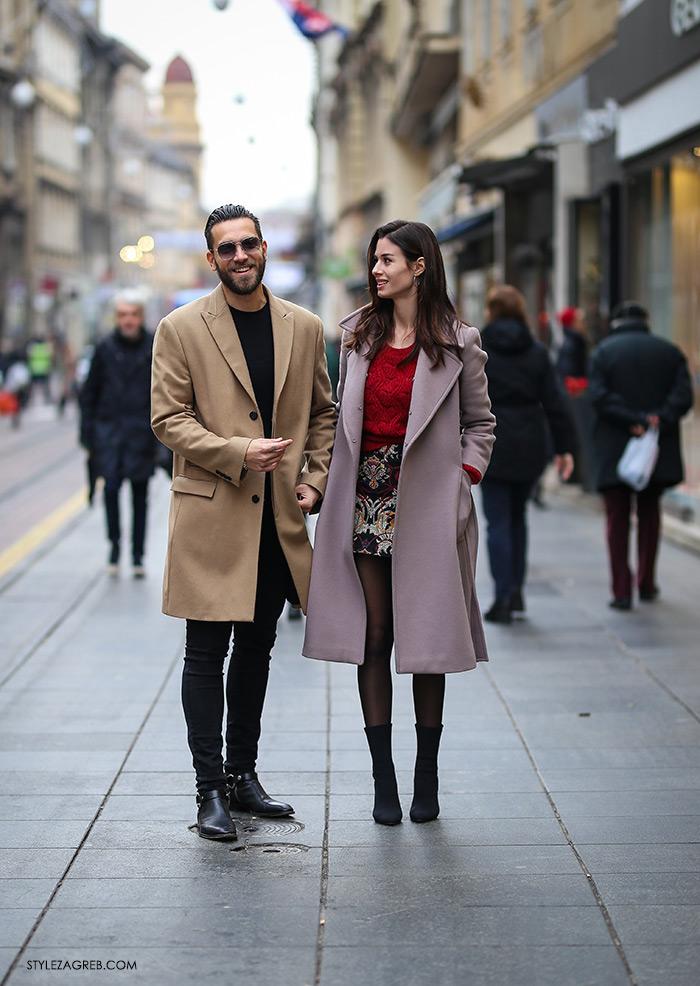 Instagram Thomas Flaim i Sara Vulinović Zlatan najbolje odjeveni street style par by Style Zagreb & Croata photo by Slavica Josipović