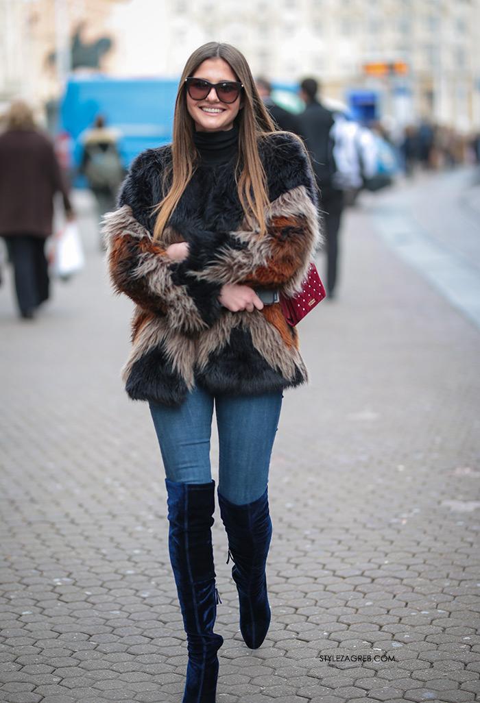 Bundice street style Zagreb Instagram ulična moda ženska zimska moda fotke