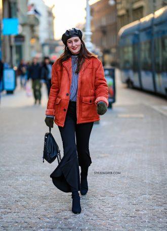 Ovo se zove imati stila na hladnoći | Style Zagreb