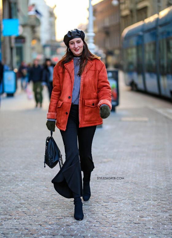 Ovo se zove imati stila na hladnoći   Style Zagreb