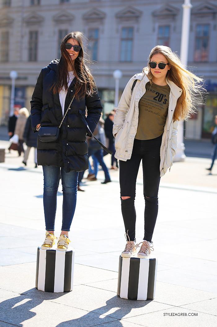 pastelne tenisice Guliver cijena, Anđela Jurišić i Korina Kovačević, studentice matematike na PMF-u