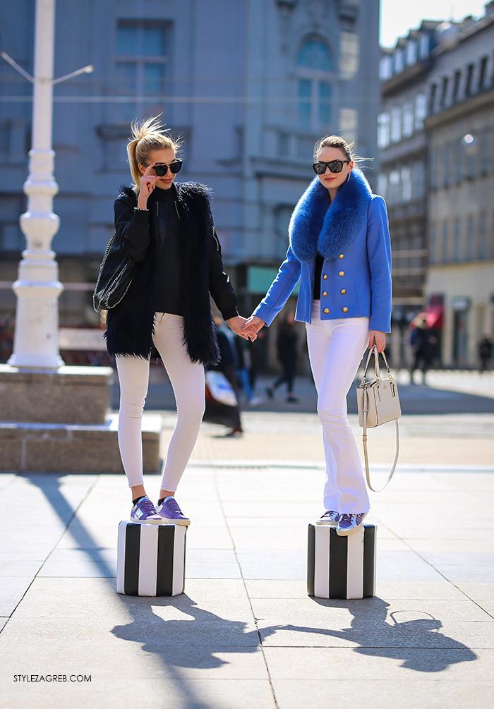 pastelne tenisice Guliver cijena, Tihana Čeljuska, studentica modnog dizajna i Karmen Stepanić, studentica ekonomije i menadžmenta na ZŠEM Instagram