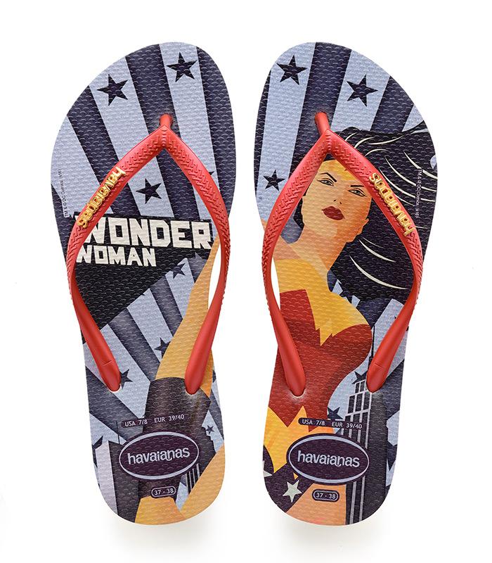 Havaianas japanke ljeto 2018. nova kolekcija Wonder Woman