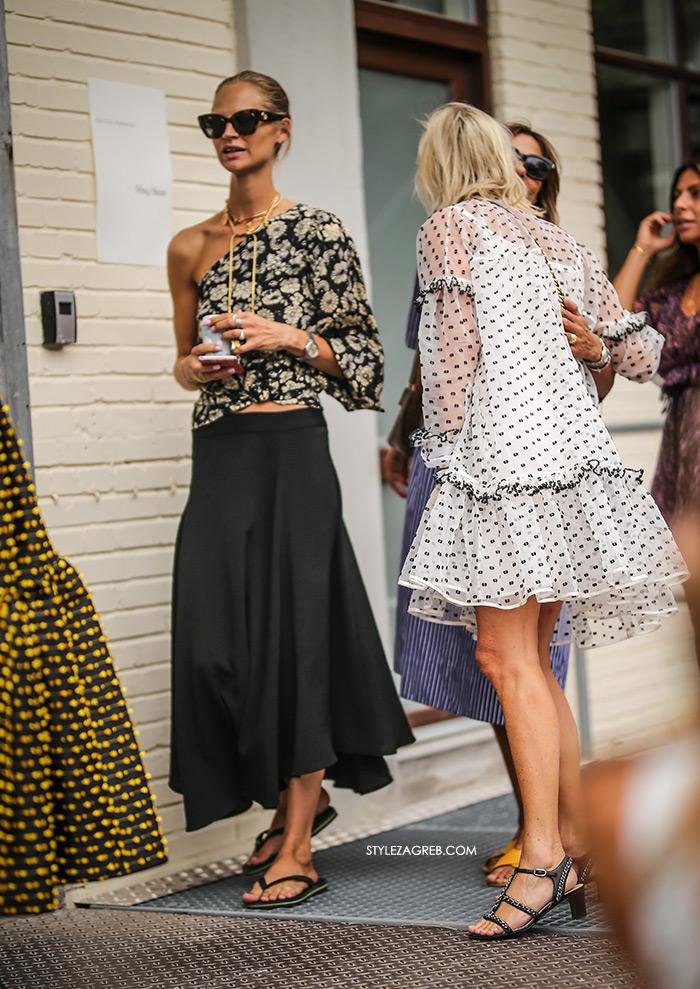 Copenhagen Fashion Week How The Scandi Set Dress Now street style stil skandinavki