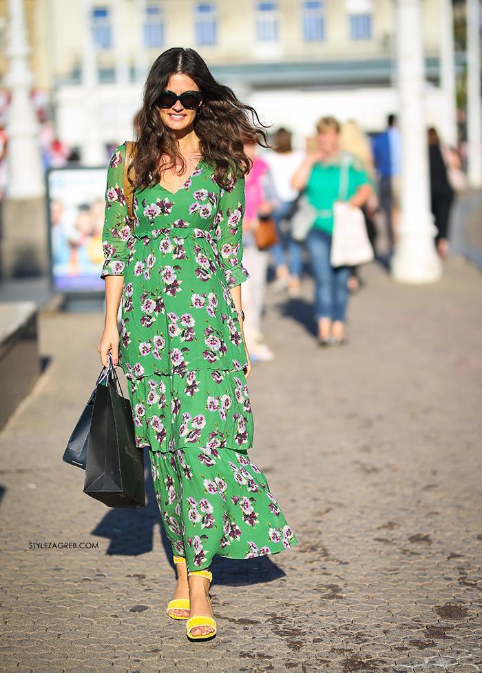 Zelena haljina Mango, Zrinka Barkiđija