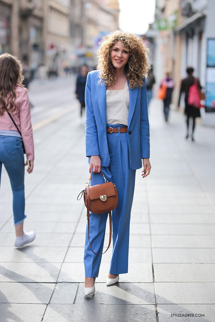 Melisa Sedić Zara poslovni look