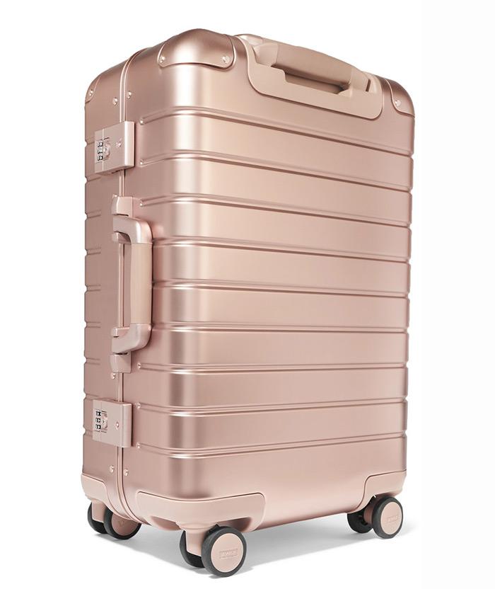 Away kabinski kofer rose gold aluminum