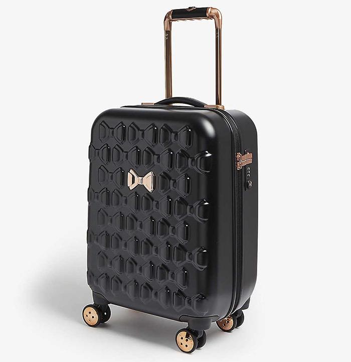 Ted Baker crni kabinski kofer