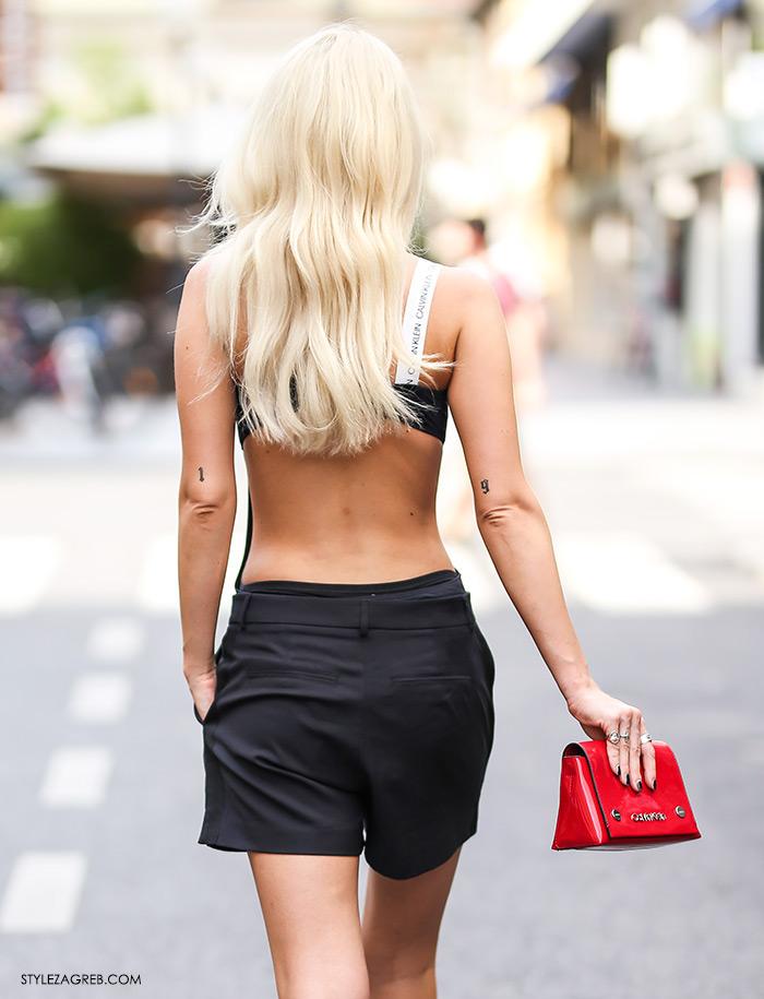 Karla Zelić Instagram @superbabekillah Calvin Klein crni jednodjelni kupaći kostim što kupiti na sniženjima