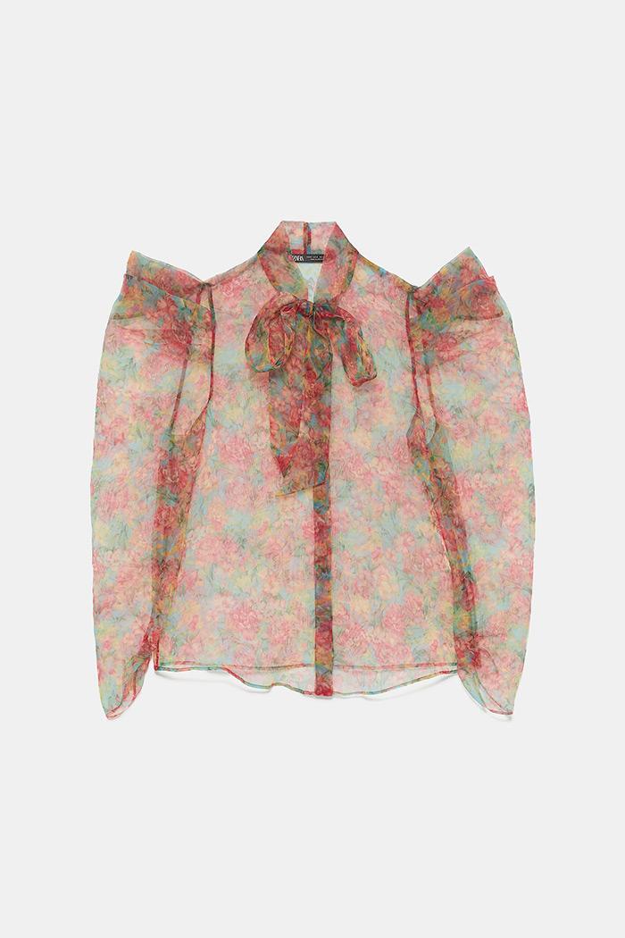 Prozirne organdi košulje i bluze iz Zarine kolekcije