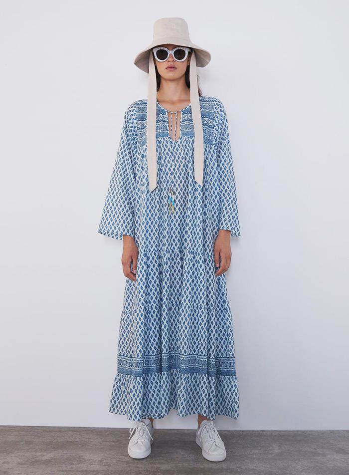 šator haljine street style, tent dress, Zara