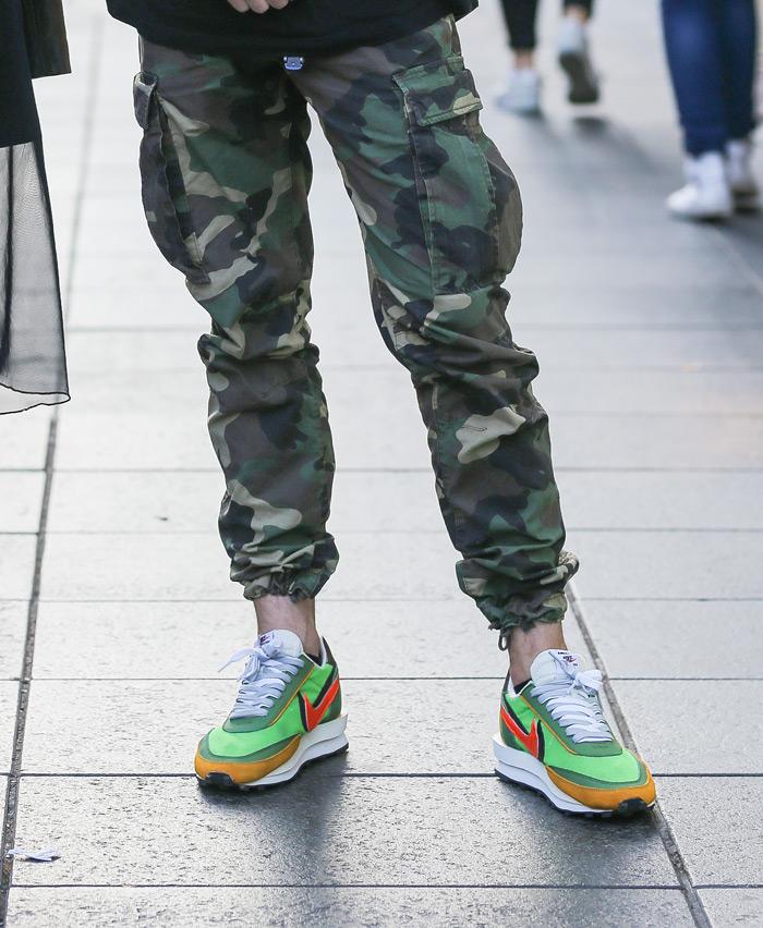 nike tenisice x sacai zelene buzz tenisice green sneakers LDWaffle tenisice veja tenisice street style špica zagreb