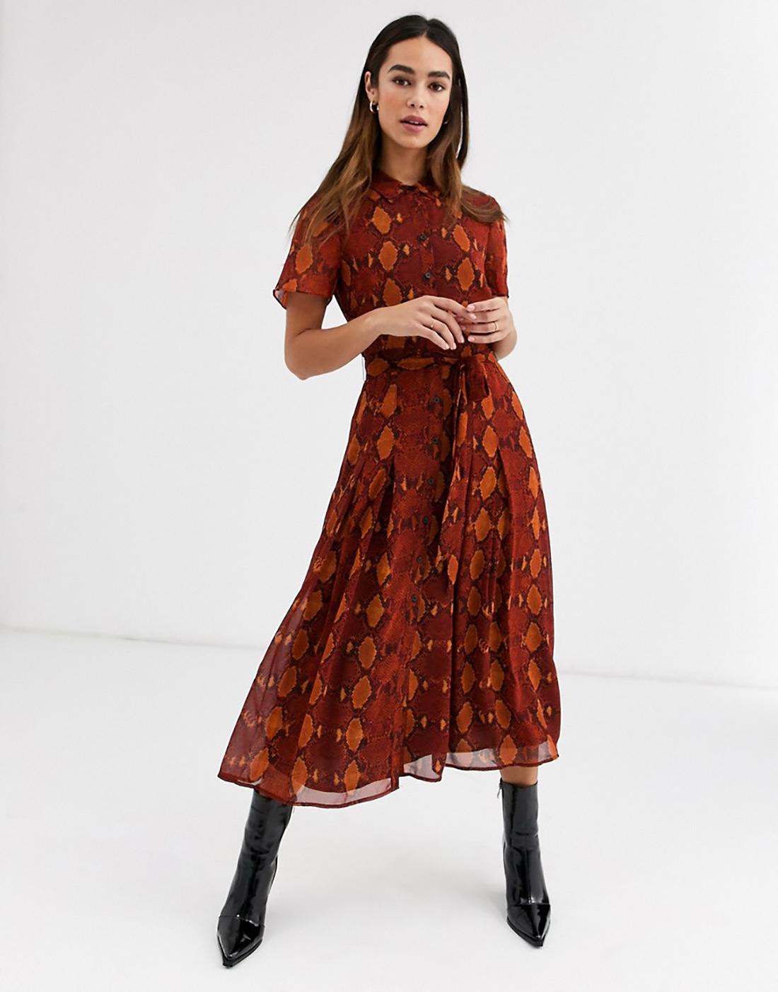 street style zagreb ženska moda jesen zima 2019/2020 kako kombinirati zmijski uzorka špica zagreb zagrebačka špica asos topshop h&m mytheresa designers look
