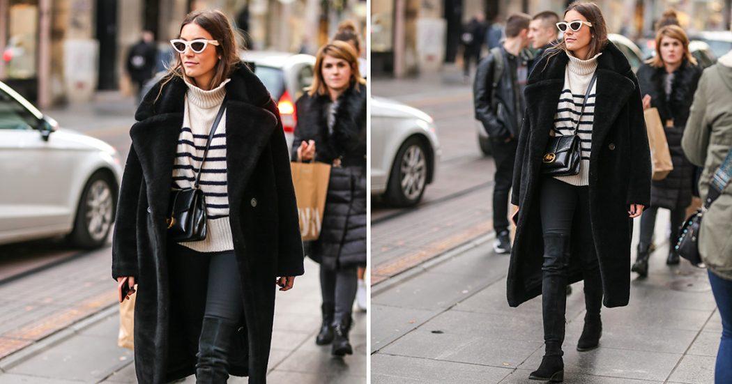 Svaki je komad iz njenog outfita poželjan adut u zimskoj garderobi...