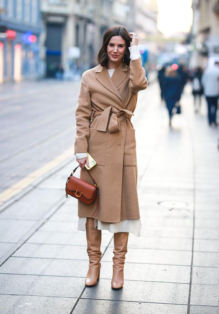 moda siječanj špica zagreb dorica Instagram Dora Predojević cro moda siječanj zimski ženski outfit