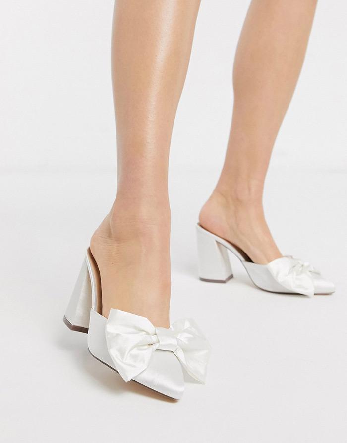 baršun cipele s mašnom
