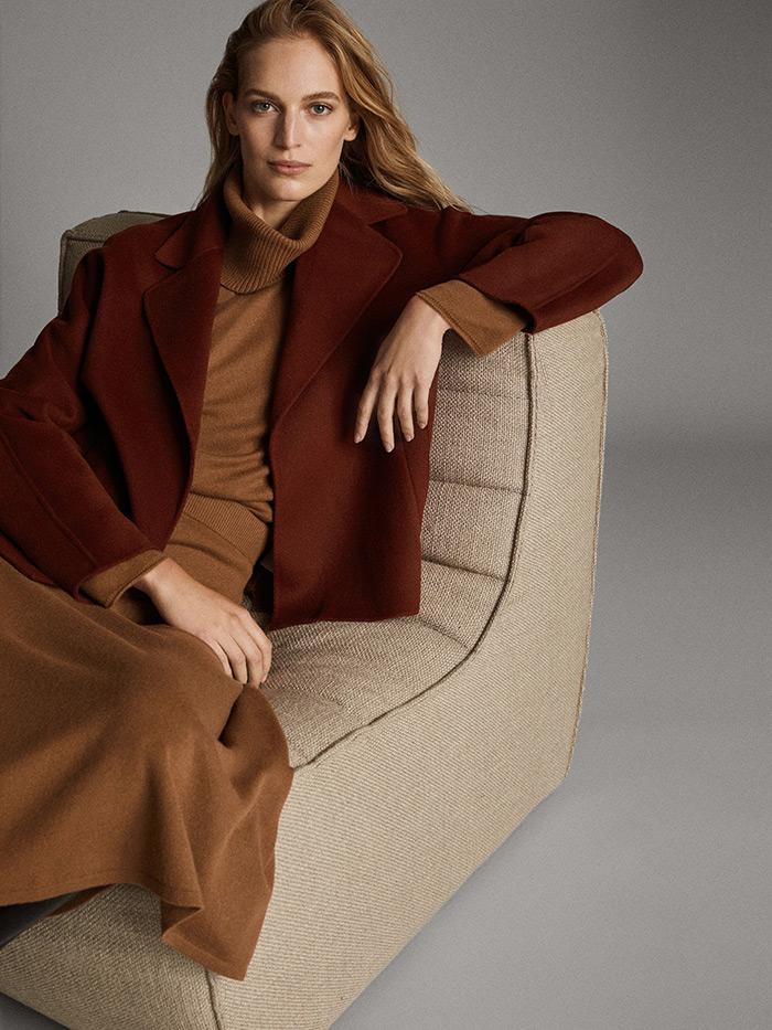 massimo dutti kratki pelerina proljetni vuneni kaput što odjenuti na posao poslovni look style zagreb