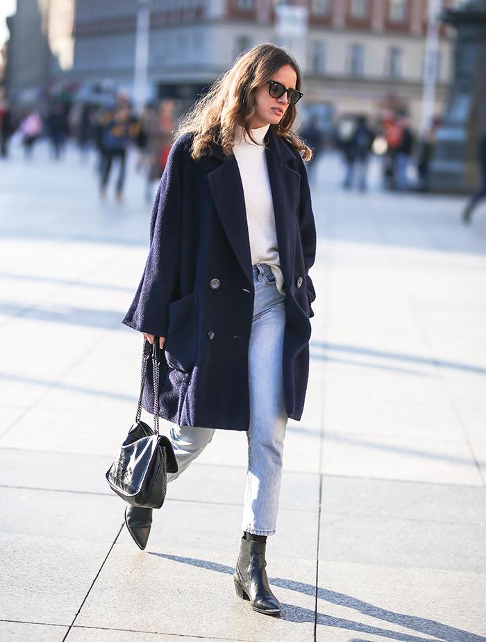 Novinarka Matea Dominiković najbolji proljenti kaput zagreb špica ženska moda proljeće proljetni kaput zagrebacka spica street style