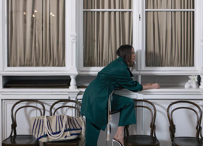 baloneri, kombinezoni i haljine od mekane kože Nevena Dujmović Amarie ženska moda proljeće 2020