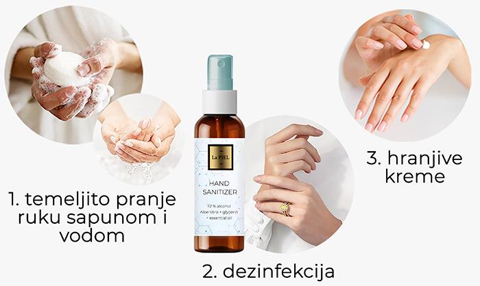 La PIEL hand sanitizer Lana Jurčević