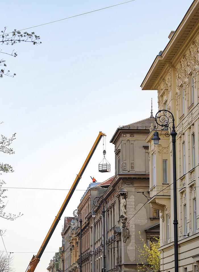 koronavirus potres Zagreb fotke fotografije nakon potresa alpinisti radovi na krovu