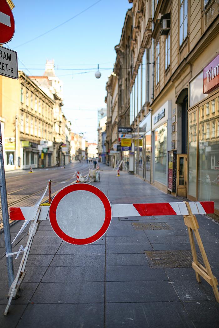 koronavirus potres Zagreb fotke fotografije nakon potresa zagrebačka špica