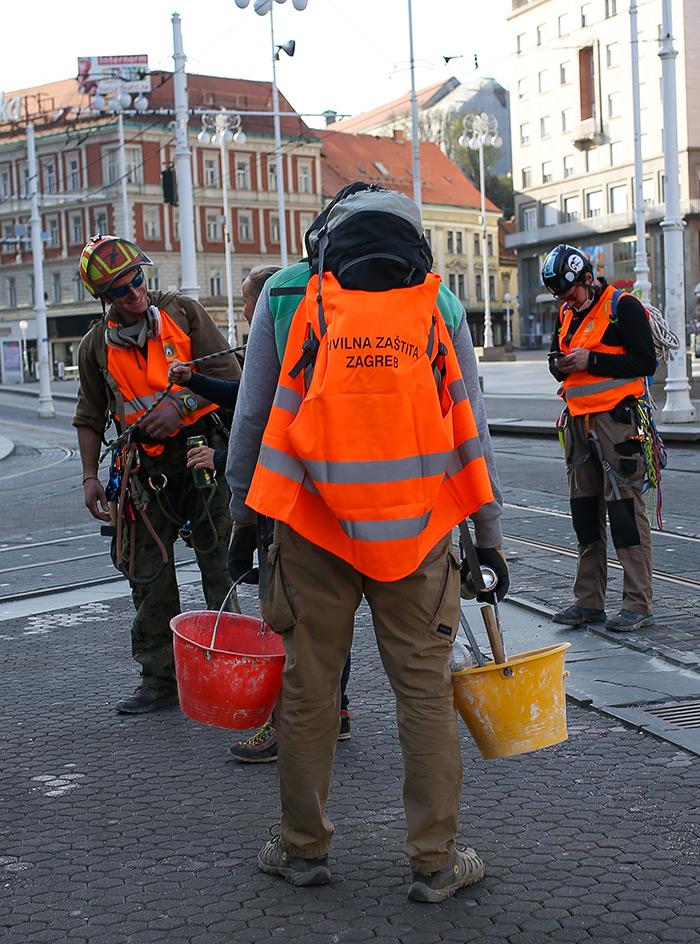 koronavirus potres Zagreb fotke fotografije nakon potresa